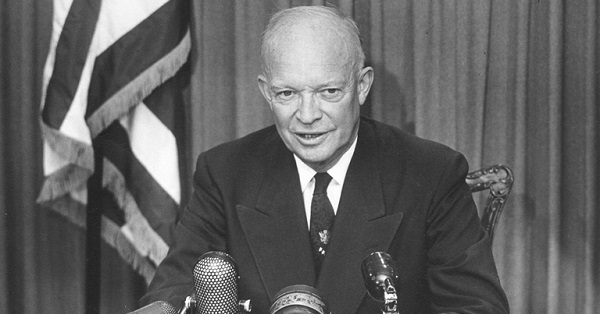 10. Dwight D. Eisenhower