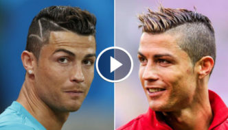 Hairstyles Of Cristiano Ronaldo