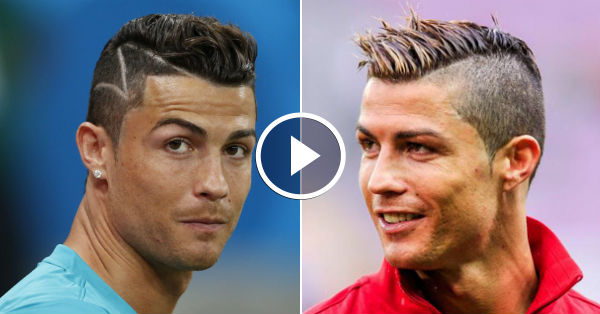 The Coolest Hairstyles Of Cristiano Ronaldo [HD]