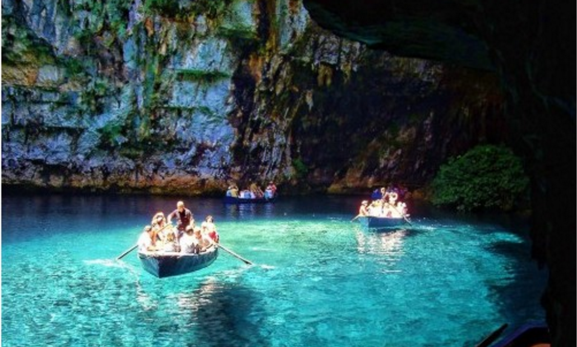 Melissani Lake is located in Greece. It is a beautiful country. It is renowned because of its outstanding tourism hospitability, immaculate waters and numerous sandy beaches. Besides pyramids, this lake makes Greece so famous. Basically, this lake is a cave lake. It is completely surrounded by forests and caves. In fact, the cave was a hidden treasure for tourists. It was explored when the roof the cave shattered in the year 1953 due to an earthquake. This lake is encircled by beautiful and heavy forest. When sunlight suffuses the region the water color reflecting it on the encircling wall makes it more captivating and magical. It is given no. 3 in this list of top 10 most beautiful lakes in the world.