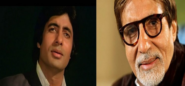 Amitabh then and now pic