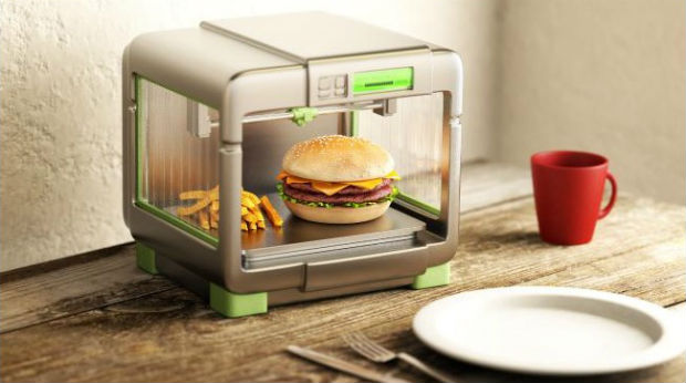 3D printed food is one of the best futuristic technology
