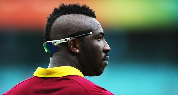 Weirdest hairstyles of Cricketers Andre Russel