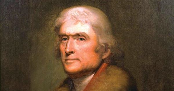 7. Thomas Jefferson