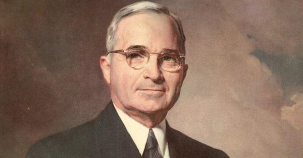 9. Harry S. Truman