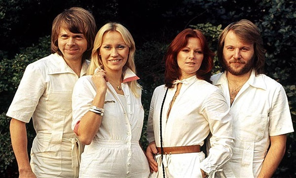 ABBA are among 100 top selling artists of all time