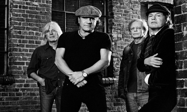 AC/DC are among top 100 rock bands list