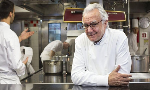 Alain Ducasse is one of the top 10 michelin star chefs