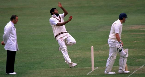 Most feared fast bowlers Andy Roberts