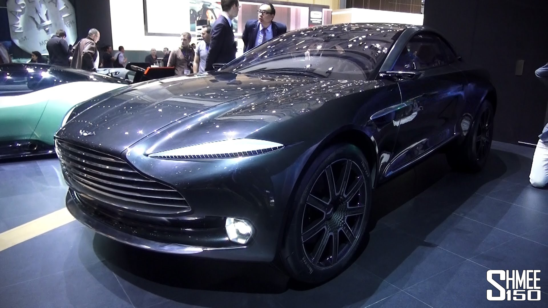 Aston Martin DBX is one of the best technologically advanced cars
