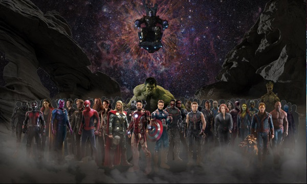 Avengers: Infinity War is one of the superhero film 2018