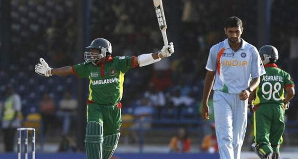 Bangladesh defeat India - 2007 World Cup biggest upsets in cricket ODI