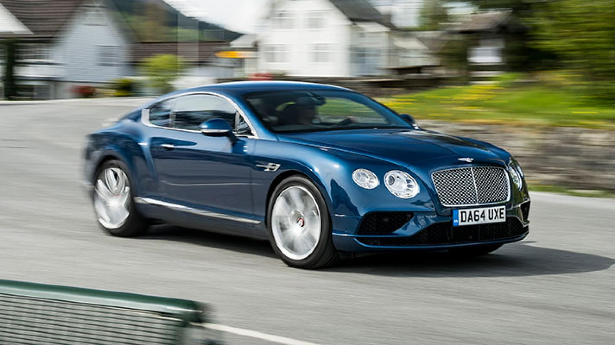 Bentley Continental GT is one of the most technologically advanced vehicles