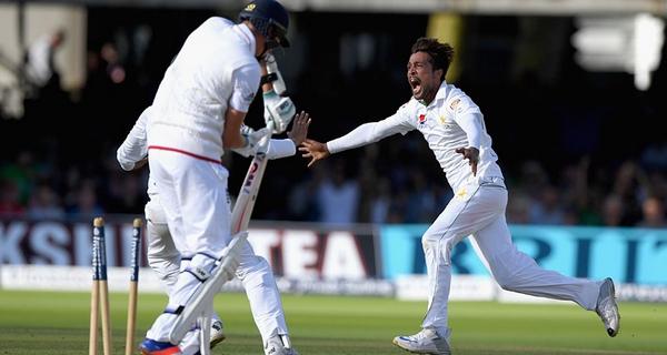Biggest winning margins in Pakistan vs England matches Muhammad Amir