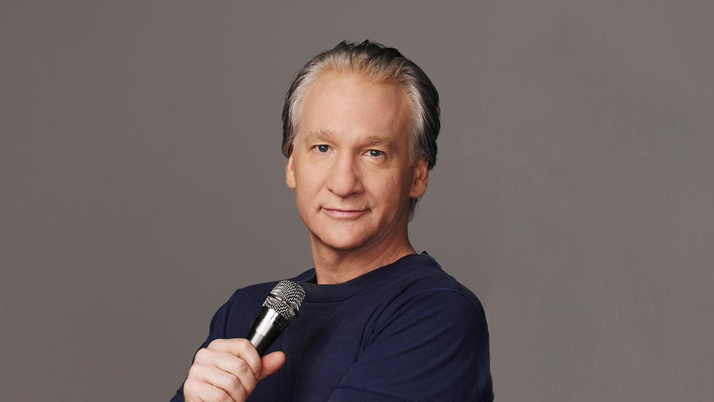 Bill Maher is among Amazing 10 Talk Show Hosts 2017