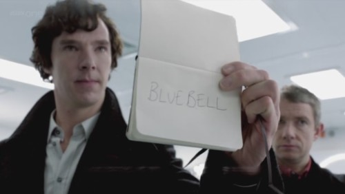 Bluebell was one of the wittiest sherlock scenes