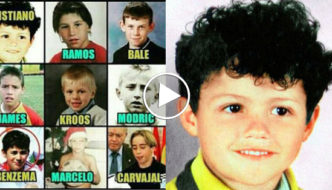 15 Real Madrid Footballers When They Were Kids [Video]