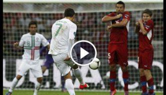 Cristiano Ronaldo Best Free Kick Goals Ever [Video]