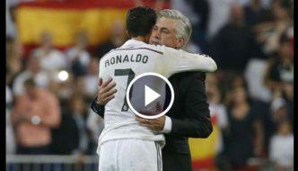 Cristiano Ronaldo and Carlo Ancelotti - Best friends Forever [Video]