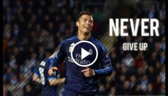 Never Give Up - Cristiano Ronaldo - Everyone Makes Mistakes [Video]
