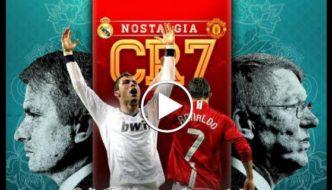 Cristiano Ronaldo - Manchester United vs Real Madrid Battle [Video]