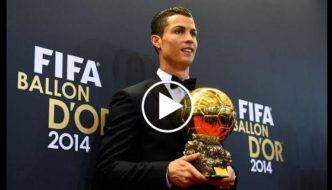 Cristiano Ronaldo Ballon d'Or winning moments [Video]