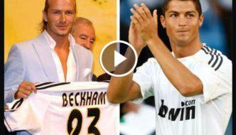 Cristiano Ronaldo Vs Beckham - Who Do Girls Think Is Hotter? [Video]