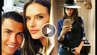 Cristiano Ronaldo Photoshoot with Alessandra Ambrosio [Video]