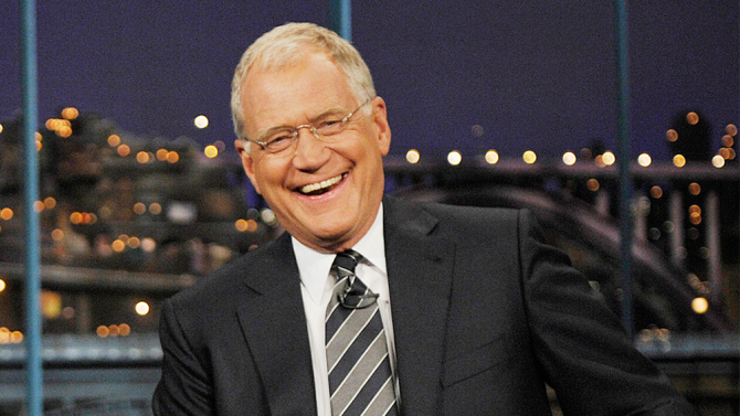David Letterman is among Awesome10 Talk Show Hosts 2017