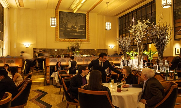 Eleven Madison Park is one of the 5 star restaurants in usa