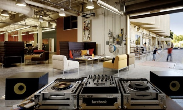 facebook office Is one of the Best offices to work and play