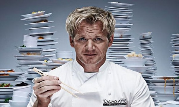 Gordon James Ramsay is one the top famous chefs