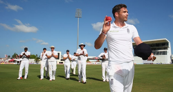 Highest wicket takers in Test James Anderson