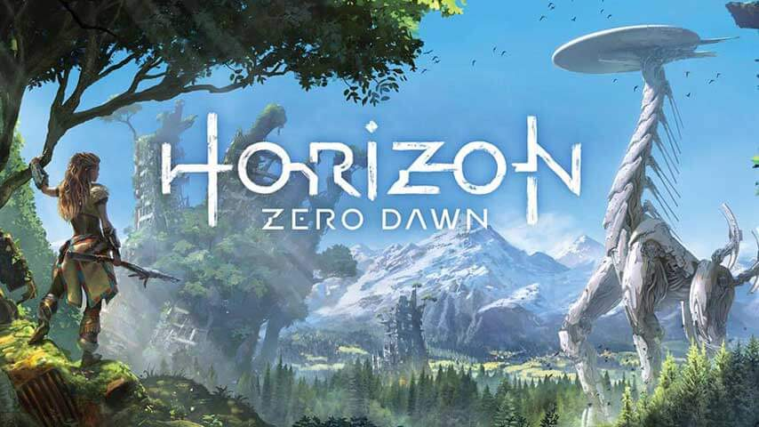 Horizon is one of the top rated PS4 release titles