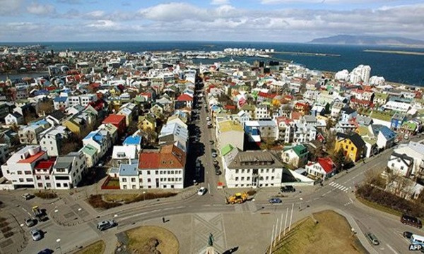 Iceland has high peace index global ranking