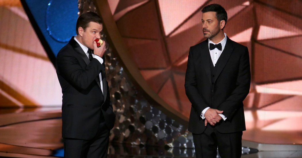 Jimmy Kimmel's And Matt Damon's Subtle Troll War is among Best 10 Oscar 2017 Moments