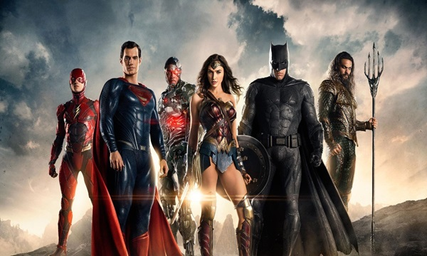 Justice League is one on the superhero film list 2017