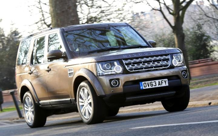 Land Rover Discovery is one of the most high tech vehicles
