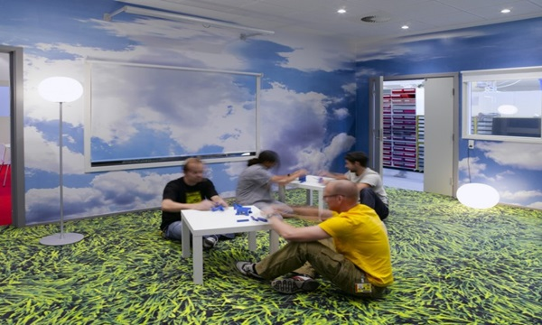 lego-office denmark Is one of the Coolest corporate offices