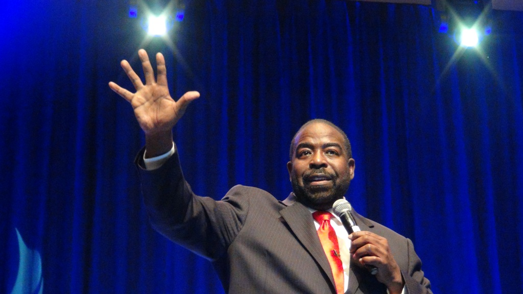 Les Brown is among the most popular motivational speakers