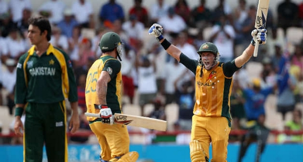 Fastest fifty runs partnerships Australia