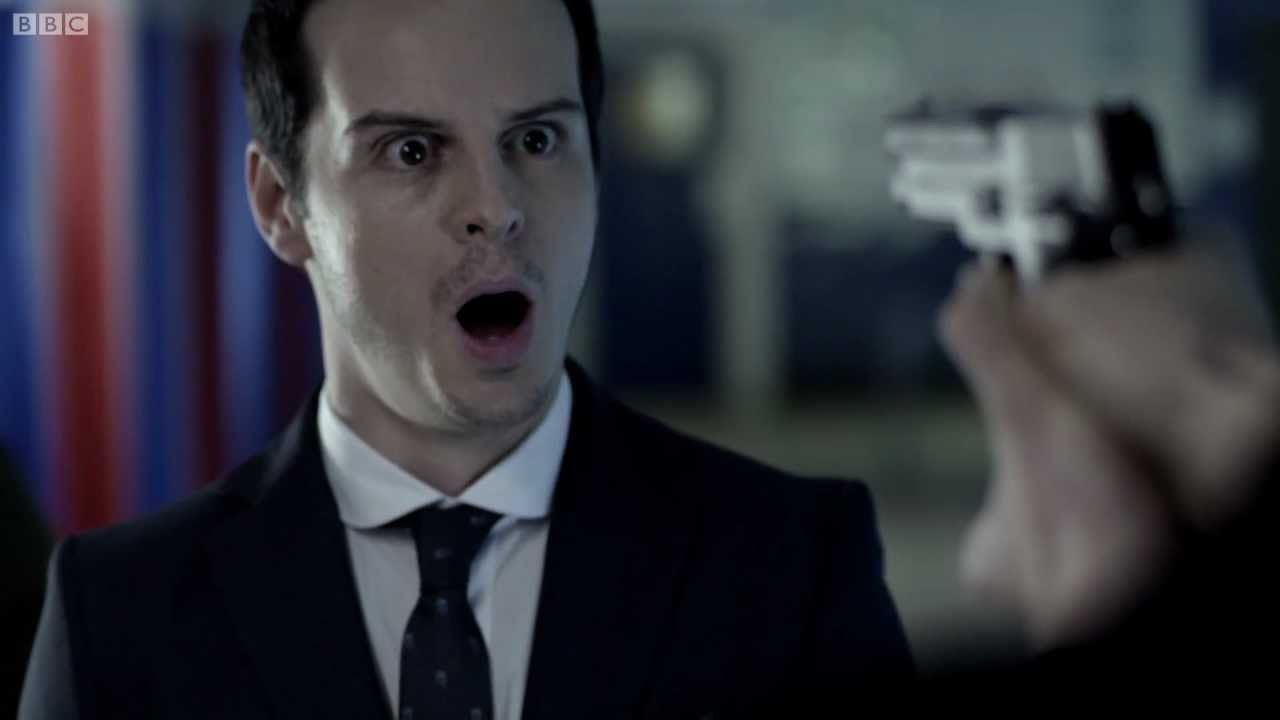 Moriarty's Reveal was one of the shocking Sherlock scenes