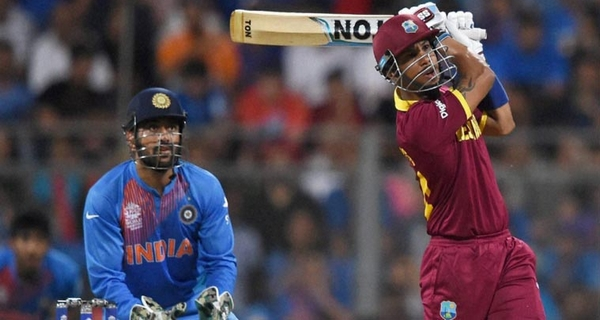Most sixes India vs West Indies