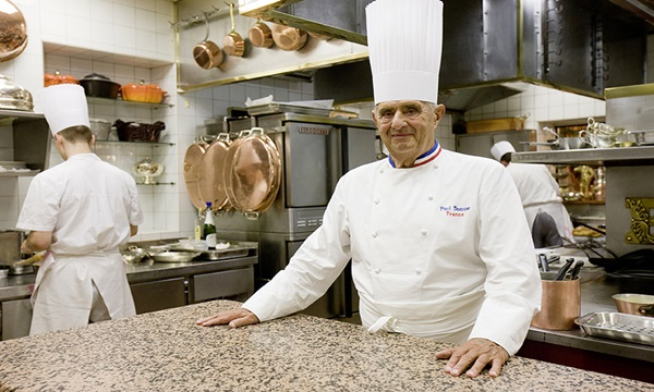 Paul Bocuse is one of the famous chefs in history