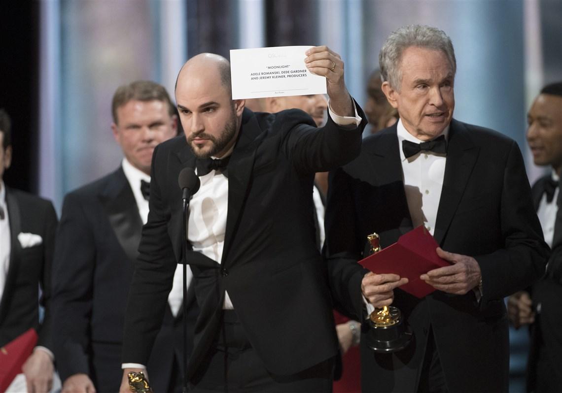 The Announcement Mishap is among Splendid 10 Oscar 2017 Moments