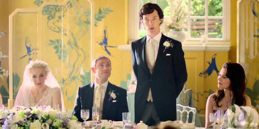 The Best Man Speech is among the all time favourite sherlock scenes