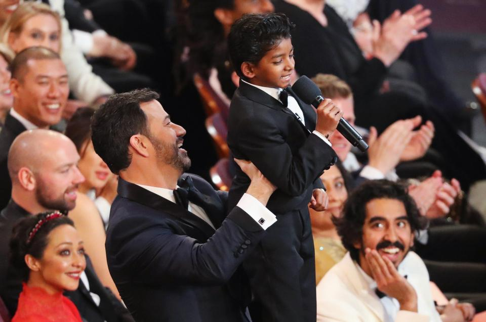 The Lion King Moment With Dev Patel And Sunny Pawar is among Top notch 10 Oscar 2017 Moments
