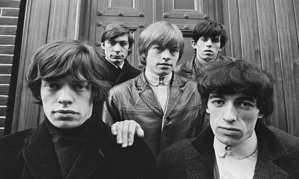 The Rolling Stones are among 100 top selling rock bands