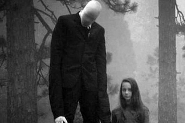 The Slender Man Is the Scariest creepypasta character