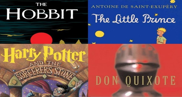 Top 10 Best Selling Books of All Time - Exclusive List